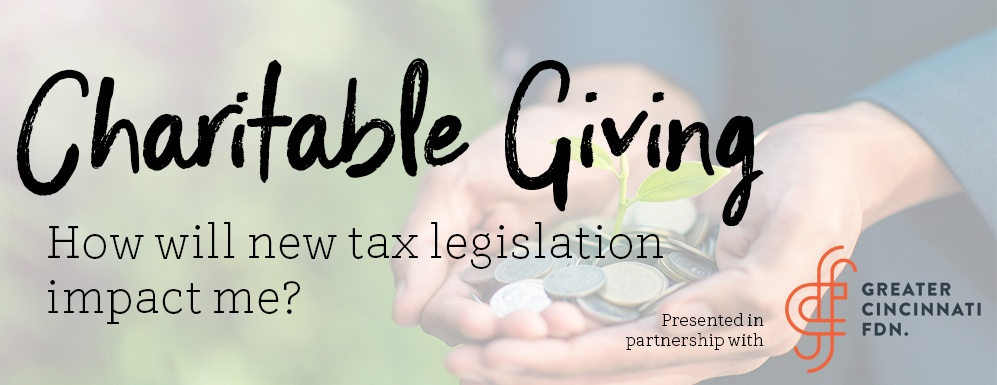Tax reform & charitable giving - What's the impact?