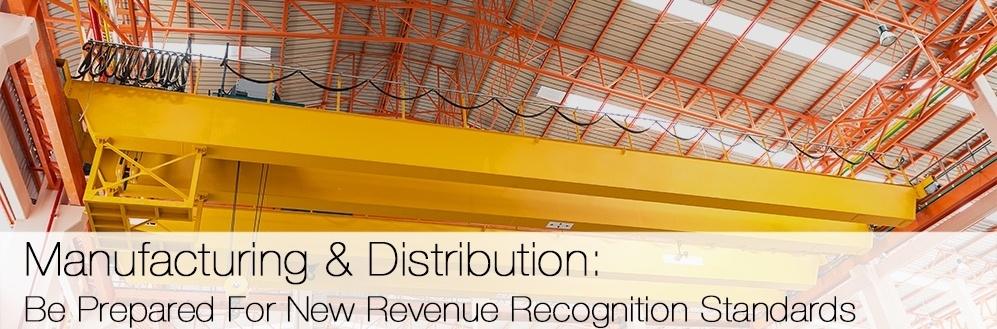 M&D: New Revenue Recognition Standards