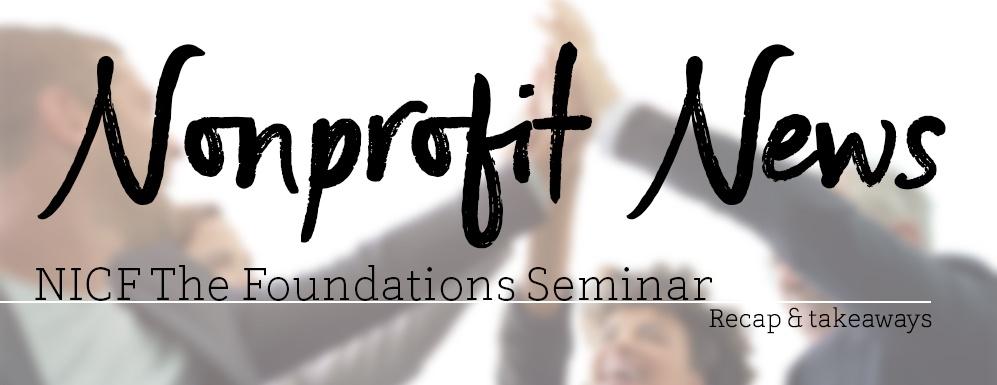 Nonprofit News - NICF recap