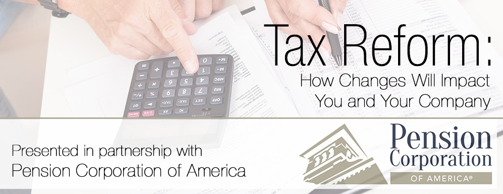 Tax Reform & Your Investments